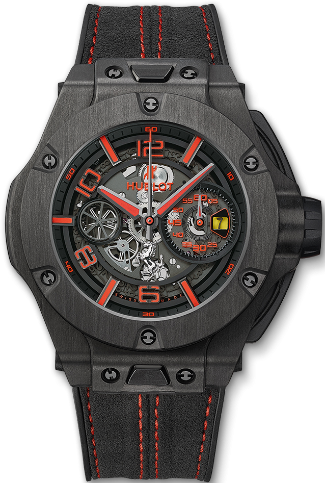 01 13 15 Today S Card Was Drawn From The Archangel Power: Hublot Big Bang 45MM Unico Ferrari