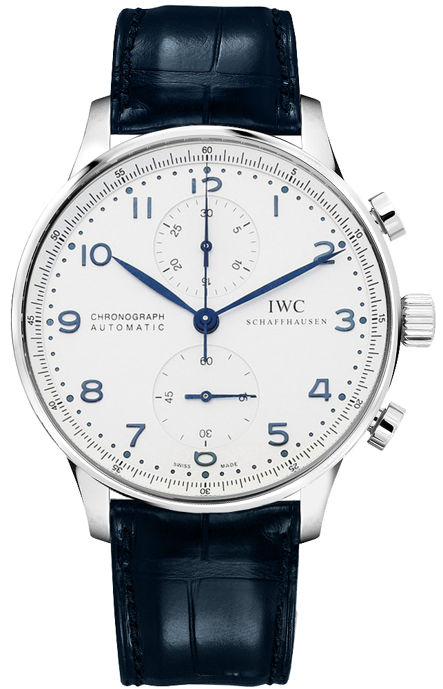 iw371446 iwc portuguese chrono new automatic movement mens