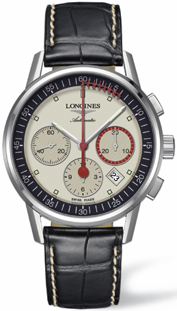 Longines Heritage Column-Wheel Chronograph L4.754.4.72.4