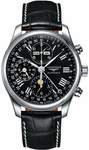 LONGINES MASTER COLLECTION MENS AUTOMATIC CHRONOGRAPH DAY-DATE