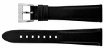 MontBlanc 18mm Black Leather Strap MB18BLKLT