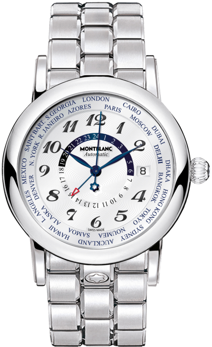 106465 montblanc star world time gmt automatic mens watch for Montblanc house