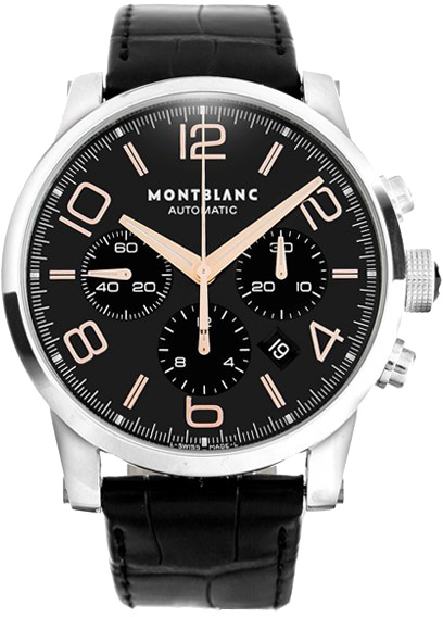 Best Automatic Watches >> 101548 MontBlanc Timewalker Chronograph Men's Watch