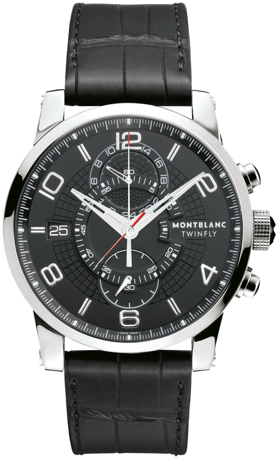 105077 montblanc timewalker twinfly chronograph mens watches for Montblanc watches