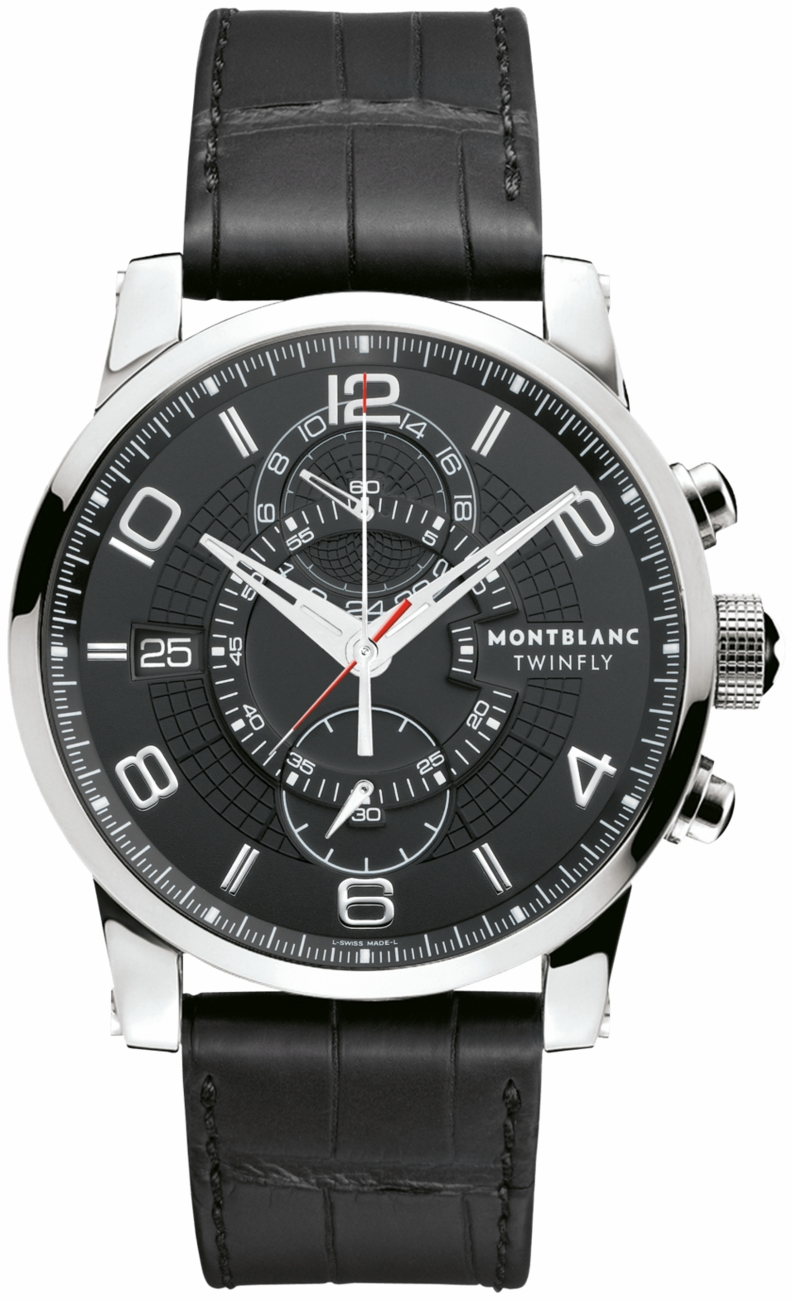 105077 montblanc timewalker twinfly chronograph mens watches for Montblanc house