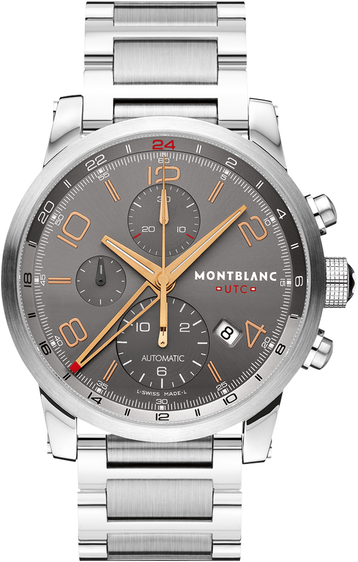 Never worn montblanc timewalker chronovoyager utc for Montblanc house