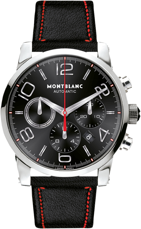 109345 montblanc timewalker chronograph automatic mens watch
