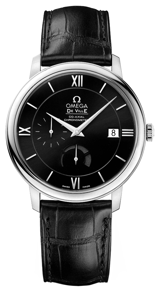 New Omega DeVille Prestige Co-Axial 424.13.40.21.01.001 ...