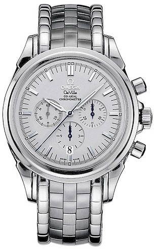 new omega deville co axial chronograph 4541 31 00 steel watch omega deville 4541 31 00