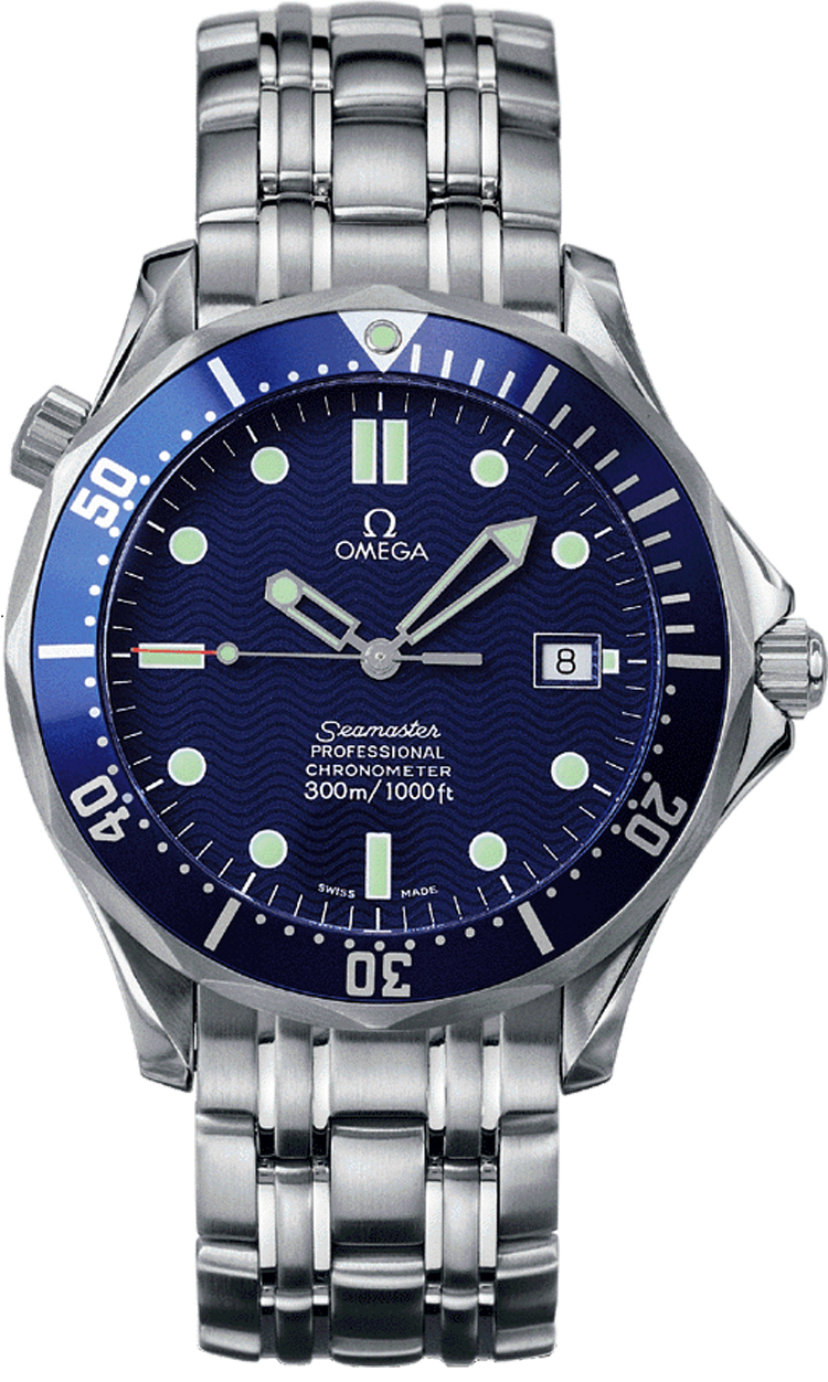 2531.80.00 Omega Seamaster James Bond Automatic Steel Blue