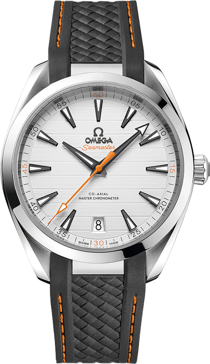 220 12 41 21 02 002 Men S Omega Aqua Terra Watch
