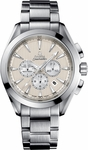 OMEGA SEAMASTER AQUA TERRA CO-AXIAL CHRONOGRAPH 44MM