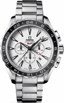 OMEGA SEAMASTER AQUA TERRA CO-AXIAL GMT CHRONOGRAPH 44MM