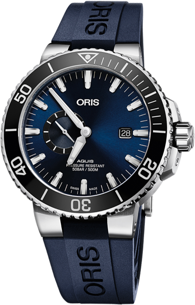 Image of Oris Aquis Small Second, Date 74377334135RS