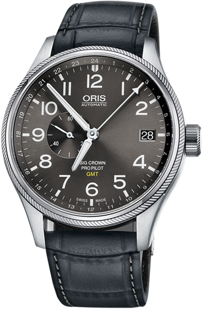 Image of Oris Big Crown ProPilot GMT Small Seconds 74877104063LS