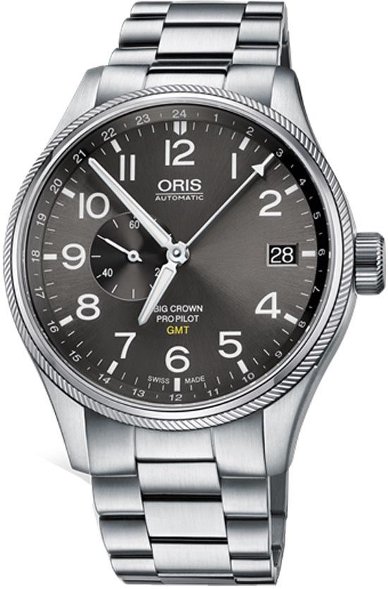 Image of Oris Big Crown ProPilot GMT Small Seconds 74877104063MB