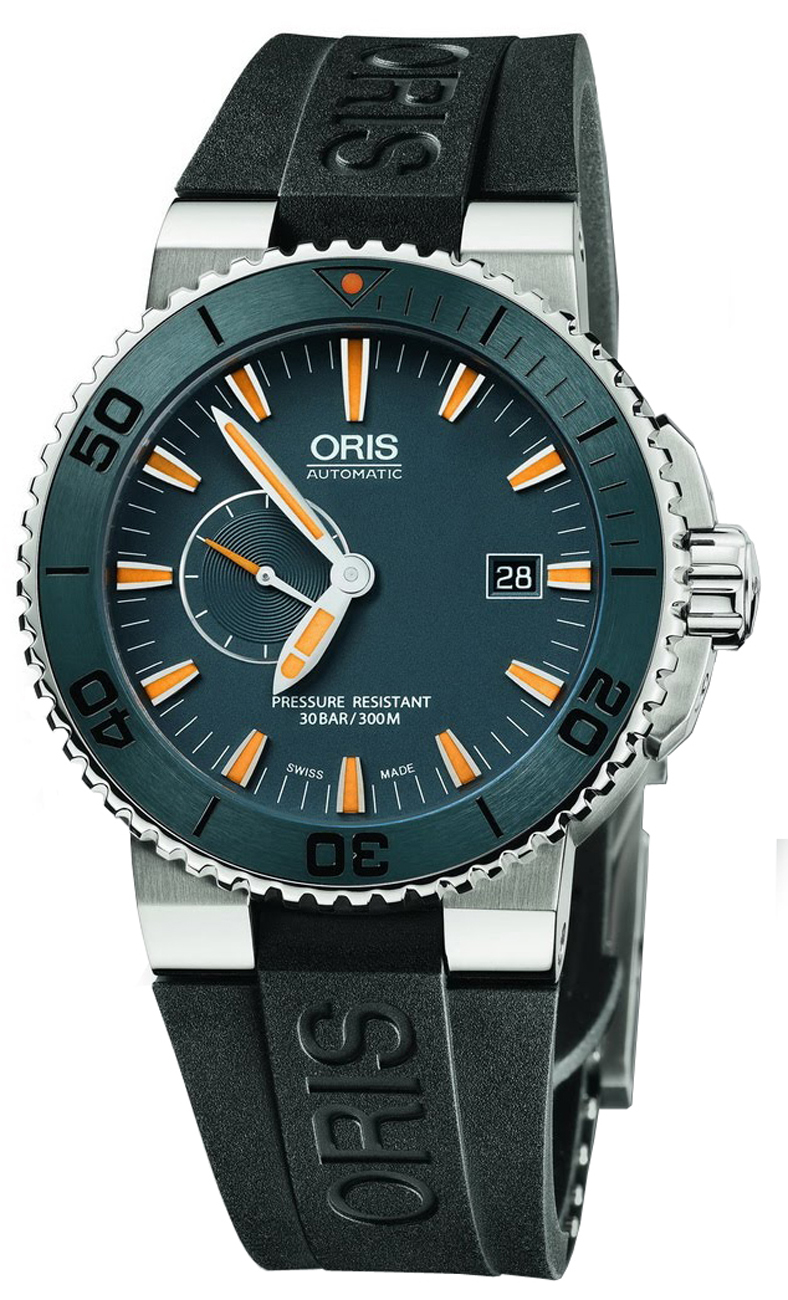 Limited Edition Birthday Collection: 64376547185RS Oris Limited Edition Aquis Divers Date