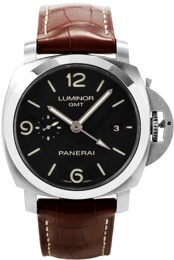 Officine Panerai Luminor Gmt Pam00320 Authenticwatches Com