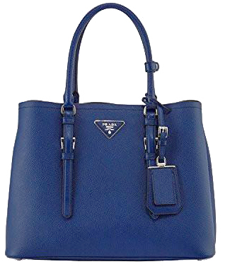 Image of Prada Saffiano Cuir Double Large Tote Bag