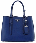 Prada Saffiano Cuir Double Medium Tote Bag