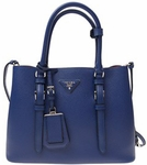 Prada Saffiano Cuir Double Small Tote Bag
