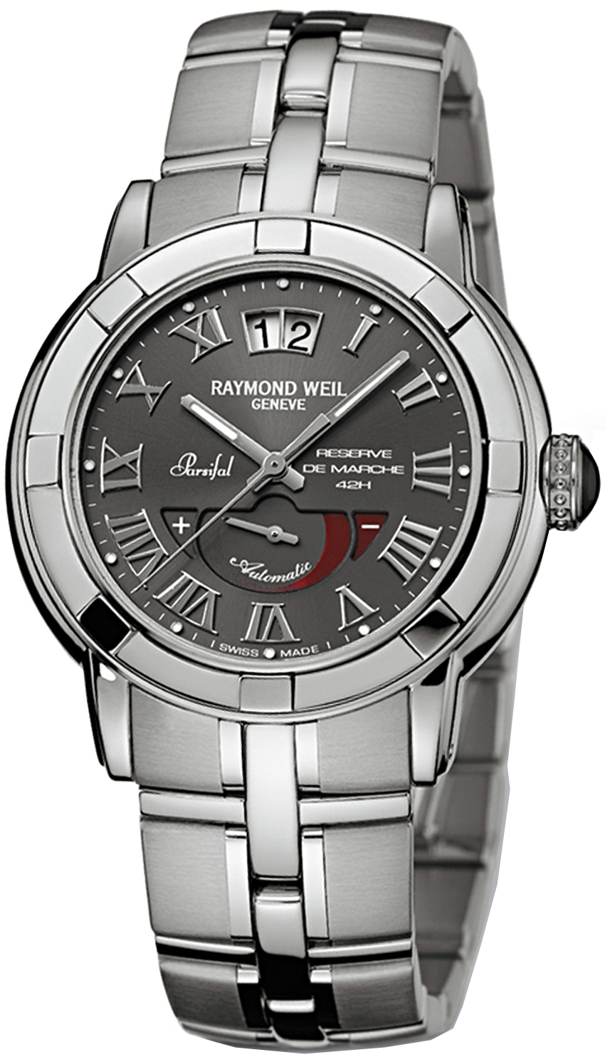2843-ST-00608 Raymond Weil Parsifal Automatic Roman Dial Mens Watch