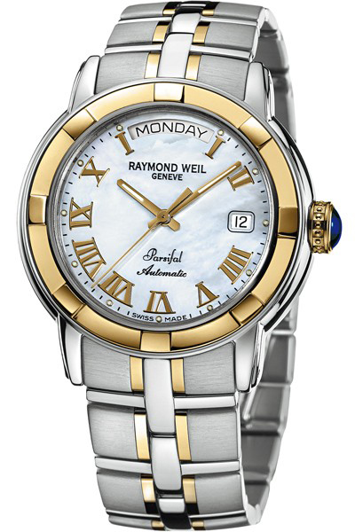 2844-STG-00908 Raymond Weil Parsifal Automatic 18K Gold Mens Watch