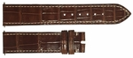 Rolex 19mm Brown Crocodile Strap 335112