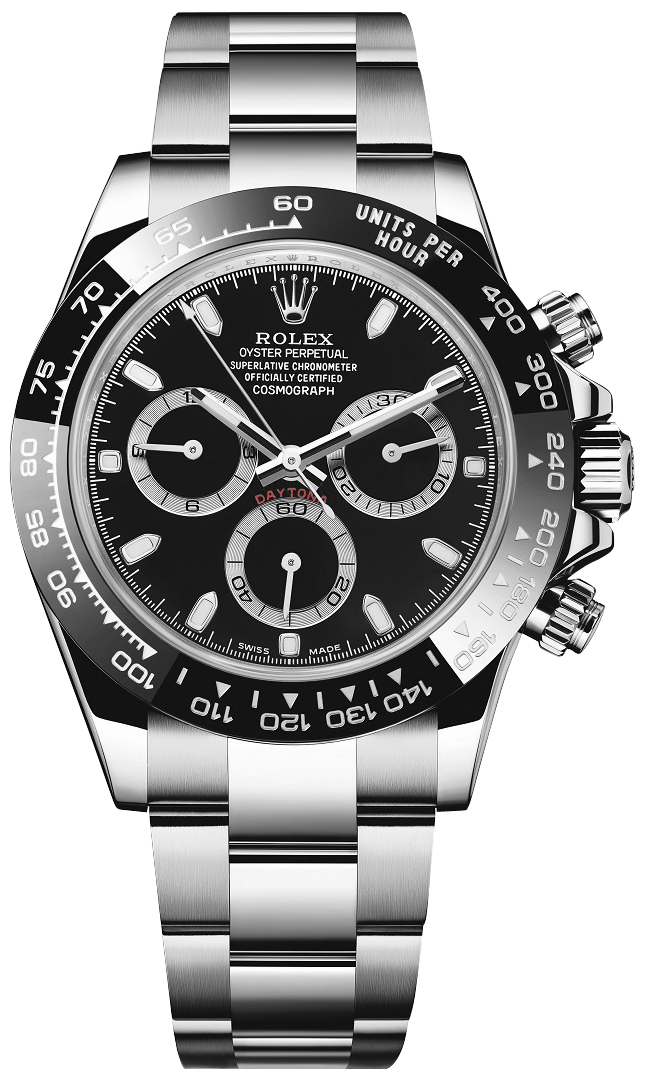 116500ln rolex daytona cosmograph steel watch