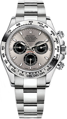 Rolex Cosmograph Daytona White Gold Watch 116509