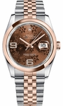 Rolex Datejust 36 Steel & Rose Gold Watch 116201