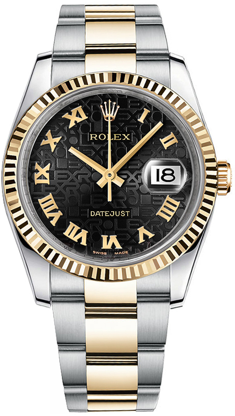 116233 jubilee rolex datejust 36 for Rolex date just 36