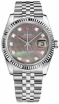 Rolex Datejust 36 Women's Pearl Watch 116234