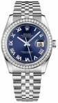 Rolex Datejust 36 Women's Diamond Watch 116244