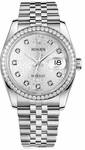 Rolex Datejust 36 Diamond Women's 116244