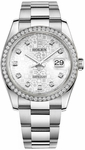 Rolex Datejust 36 Silver Jubilee Diamond Dial Watch 116244