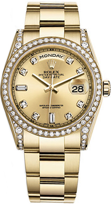 118388 rolex day date 36 unisex timepieces for Rolex day date 36