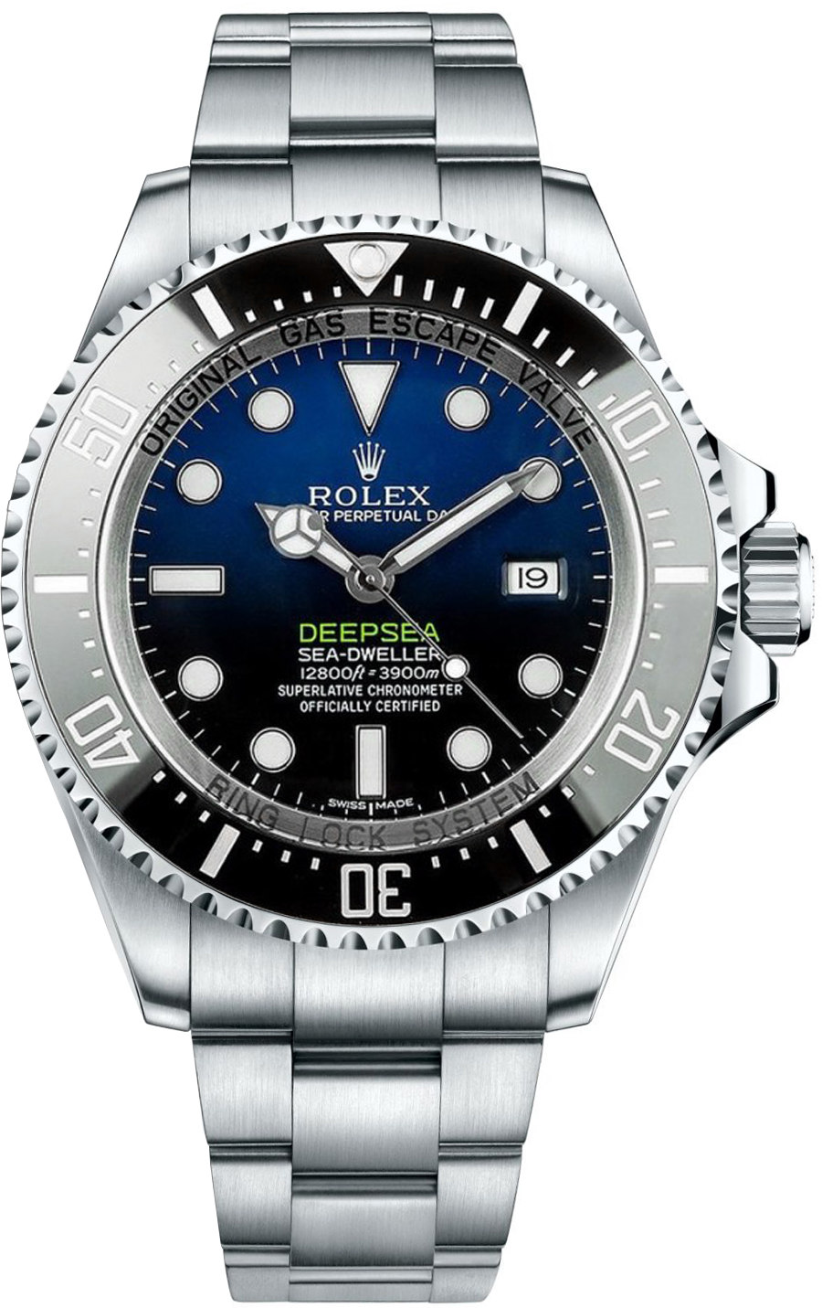 116660 Rolex Deepsea D-Blue Dial Watch