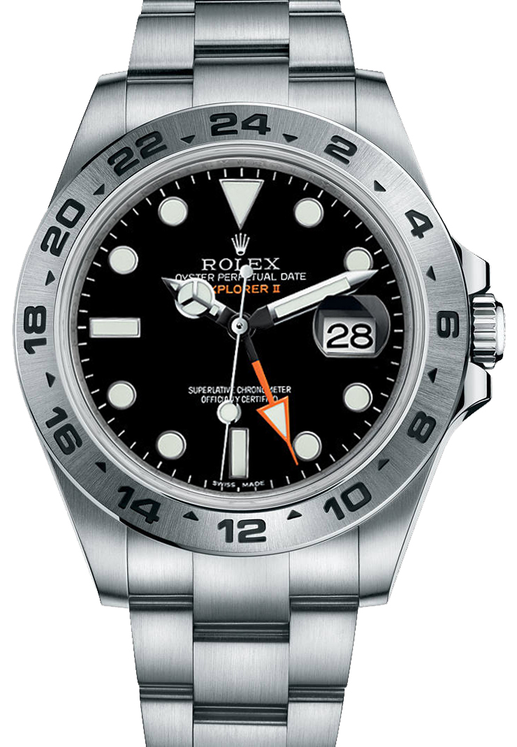 216570 black rolex explorer ii