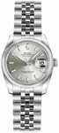 Rolex Lady-Datejust 26 Silver Women's Watch 179160