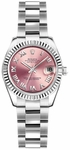 Rolex Lady-Datejust 26 Pink Dial Watch 179174