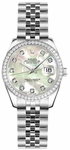 Rolex Lady-Datejust 26 Pearl Women's Watch 179384