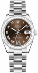 Rolex Datejust 31 Bronze Dial Watch 178344