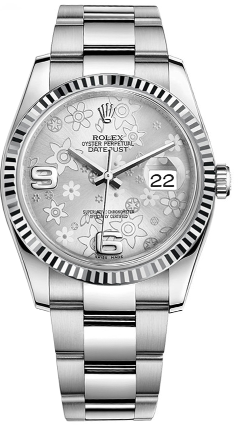 116234 slvffo rolex datejust 36 for Rolex date just 36