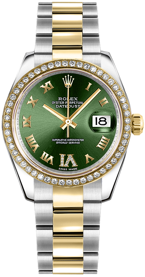 178383 ogrnrdro rolex lady datejust 31 dress watch for Rolex date just 31