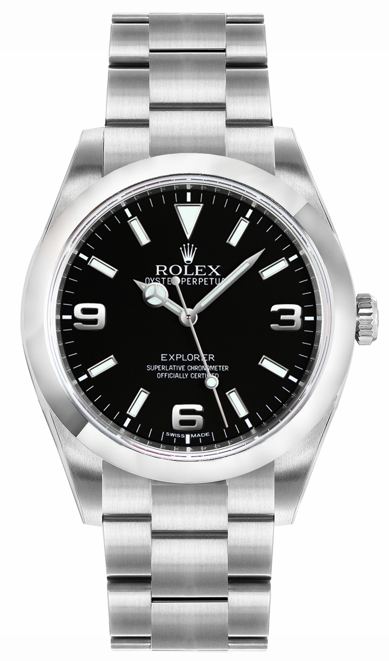 214270 rolex explorer mens watch