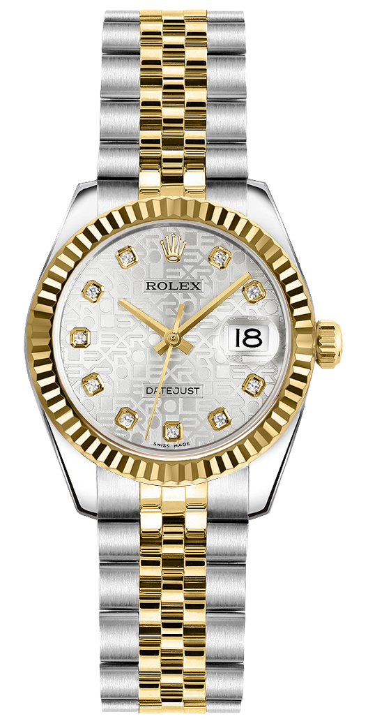 Rolex Lady-Datejust 26 Oystersteel Women's Watch 179173