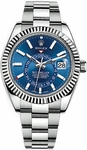 Rolex Sky-Dweller White Gold Watch 326934