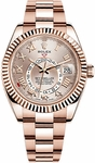 Rolex Sky-Dweller Rose Gold Watch 326935