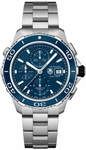 TAG HEUER AQUARACER 500M AUTOMATIC CHRONOGRAPH 43MM